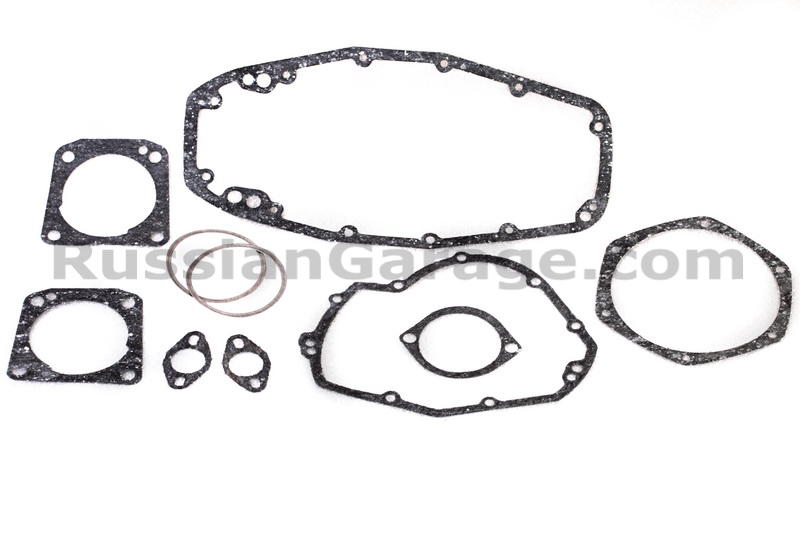 Kit of paronite gaskets for complete engine repair DNEPR